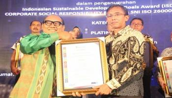 Program CSR PLN Babel Raih Platinum ISDA Award 2018