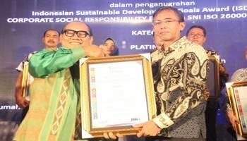 Program CSR PLN Babel Raih Platinum ISDA Award 2018