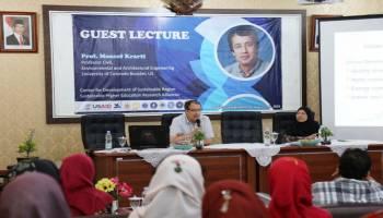 Program USAID, Kuliah Tamu FT UBB Hadirkan Prof Moncef Krarti