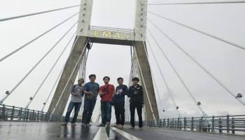 Promosikan Wisata Babel, YMCI Chapter Bangka Touring ke Padang