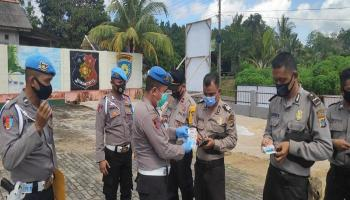 Propam Polres Bangka Barat Tegur Jenggot Anggota Polsek Tempilang