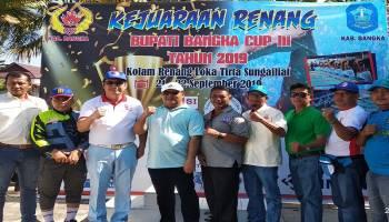 PRSI Bangka Gelar Kejuaraan Renang Bupati Bangka Cup III