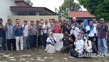 PT. AES Akan Kucurkan Bantuan 10 Juta Bagi Ketua RT se Bangka Untuk Budidaya Jahe Merah