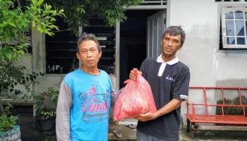 PT. BAA Kembali Salurkan 400 Paket Sembako ke Warga Dampak Covid-19 di Kelurahan Kenanga