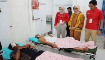 PT RSBT Gelar Operasi Katarak di Belitung