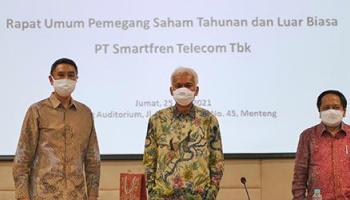 PT Smartfren Telecom Tbk Umumkan Hasil RUPS Tahunan & Luar Biasa, dan Angkat 3 Komisaris Baru