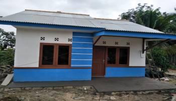 PT. Timah Bangun 12 Unit Rumah Layak Huni Bagi Warga Tak Mampu