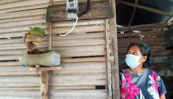 PT Timah Bantu 30 Unit KWH Meter Bagi Masyarakat Tanjung Gunung