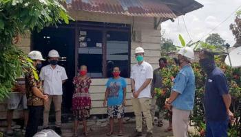 PT Timah Bantu Pemerintah Percepat Program Rumah Layak Huni