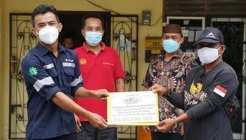 PT Timah Bantu Penyediaan Sarana Air Bersih bagi Warga Dusun Jebu Laut
