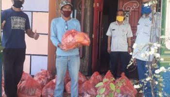 PT. Timah Bantu Warga yang Melaksanakan Karantina Mandiri