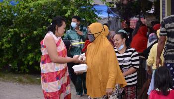 PT Timah Berikan Bantuan untuk Korban Banjir di Kelurahan Sungailiat
