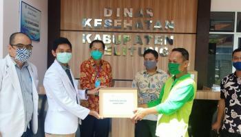 PT. Timah dan Forum Komunikasi Masyarakat Belitung Berikan Rapid Test Gratis Bagi Mahasiswa