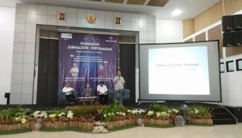 PT Timah Gelar Workshop Jurnalistik Pertimahan