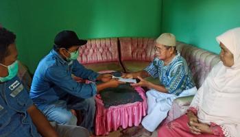 PT Timah Kembali Salurkan Bantuan Pengobatan untuk Nelayan Matras