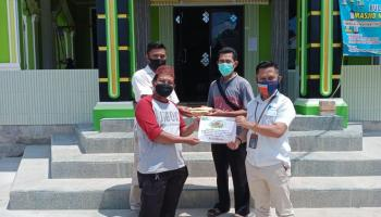 PT Timah Salurkan Bantuan untuk GP Anshor Basel dan Masjid Nurul Falah Ketapang