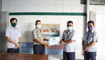 PT Timah Serahkan Bantuan kepada Gereja Kemah Injil Indonesia