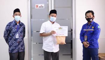 PT Timah Serahkan Bantuan Pembangunan Gedung Dakwah PCNU Bangka Selatan