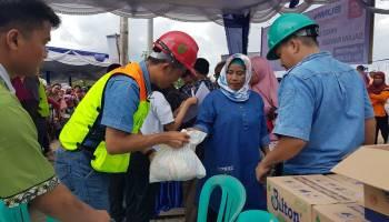 PT Timah Tbk Bagikan Paket Pangan Murah BUMN