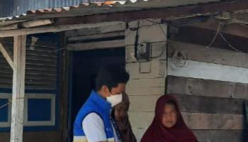 PT Timah Tbk Bantu Biaya Pengobatan Muhammad Alfarizi