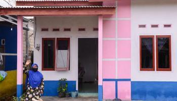 PT Timah Terus Lanjutkan Program Rumah Layak Huni