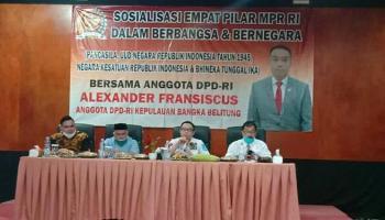 Pulang Kampung, Alexander Akan Perjuangan Harga Lada dan Timah