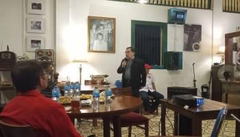 Pulang ke Pangkalpinang, Antasari Azhar Nobar Debat Capres di La trase