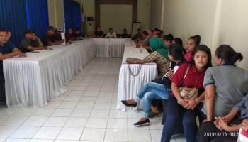 Puluhan Karyawan Hotel Parai Beach Resort & Spa Mogok Kerja