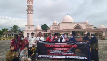 Puluhan Organisasi Gelar Aksi Galang Donasi Bersama untuk Palestina