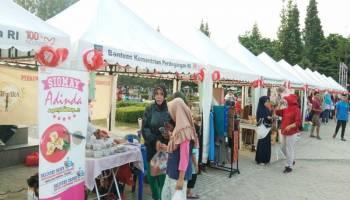 Puluhan Usaha Kecil Menengah Ramaikan Festival UMKM Perdana Babel