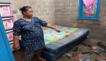 Puting Beliung Terjang Rumah Warga di Pemali