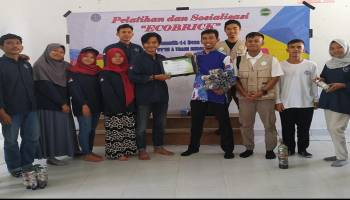 Putra Maritim Indonesia Bersama KKN UBB Gelar Edukasi