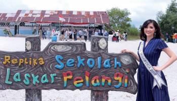 Putri Indonesia Bangga perkenalkan Bangka Belitung