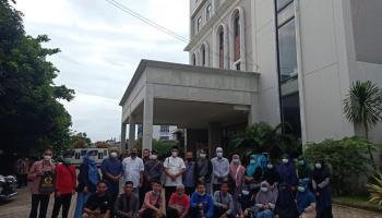 Qori dan Qoriah Kabupaten Bangka Studi Banding ke PTIQ Jakarta