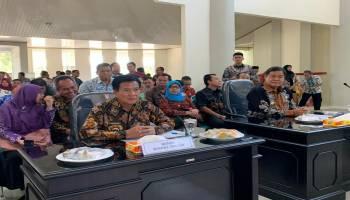 Rakor Kepala Daerah Bahas Delapan Isu strategis, Ibnu Saleh Usulkan Pengerukan Sungai di Wilayah Bangka Tengah