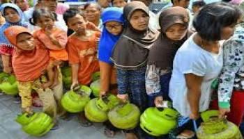 Rakyat Miskin Pengen BeliGas Melon Seperti Beli Emas Saja