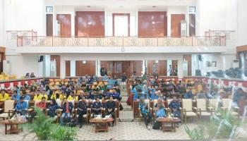 Ratusan Mahasiswa Babel Ikut Training Legislatif di DPRD Babel