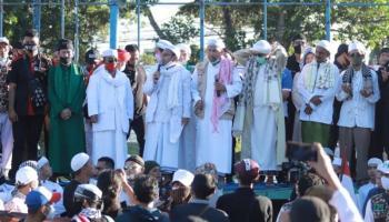Ratusan Massa Front Melayu Babel Bersatu Unjuk Rasa Tolak RUU HIP