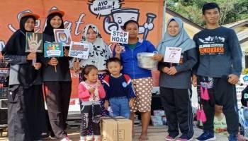 Ratusan Masyarakat Mapur Ikuti Sosialisasi KPU Bangka