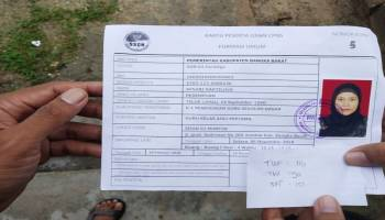 Ratusan Peserta Tes CPNS Kabupaten Bangka Barat Berguguran