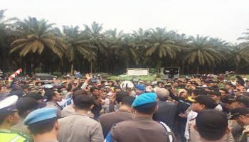 Ratusan Warga Tuntut Dua Perusahaan Perkebunan Sawit
