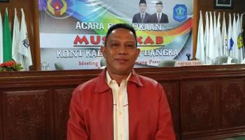 Raup 17 Suara, Mercy Yuda Terpilih Jadi Ketua KONI Bangka Periode 2019-2023