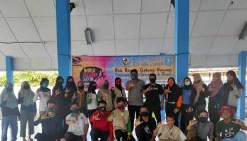 Rayakan HPSN, Komunitas Becak Babel Kampanyekan World Clean Up Day