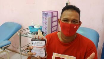 Rayakan HUT ke 22, Justru Pemuda Ini 'Menghadiahkan' Darah
