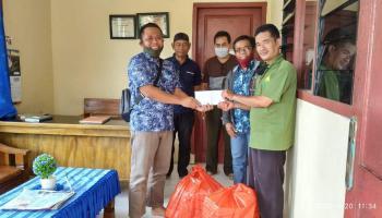 Rayakan HUT Ke 29, PT Inhutani V Unit Bangka Santuni Anak Yatim Piatu