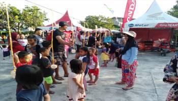 Rayakan Semarak Kemerdekaan RI, Honda Daya Motor Tanjungpandan Lempar Bom Diskon kepada Pelanggan Honda