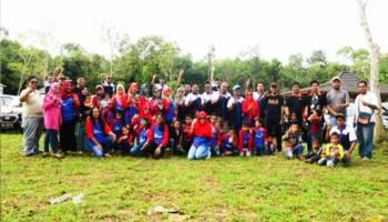 Rayakan Ultah Kedua di Hutan Pelawan, Komunitas Datsun Babel  Pilih Ketua Baru