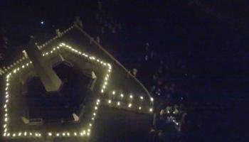 Refleksi Malam Puncak Sumpah Pemuda, 92 Api Obor Terangi Wisma Ranggam