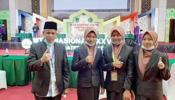 Regu Fahmil Qur'an Babel Berhasil Masuk Semifinal MTQ Nasional 2020