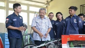 Rektor Yakin Mobil Hemat Energi UBB Masuk 10 Besar, Ini Alasannya